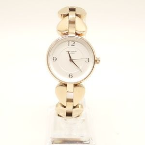 NWT KATE SPADE Annadale Watch Rose Gold Steel Band